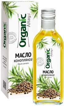 Unrefined Edible Hemp Oil, Organic Altay, 8.5 fl oz / 250 ml