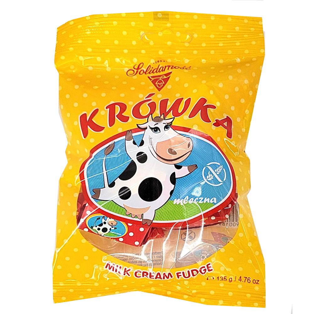 Candy Fondant Milk, Krowka, Solidarnosc, 135 g/ 0.3 lb