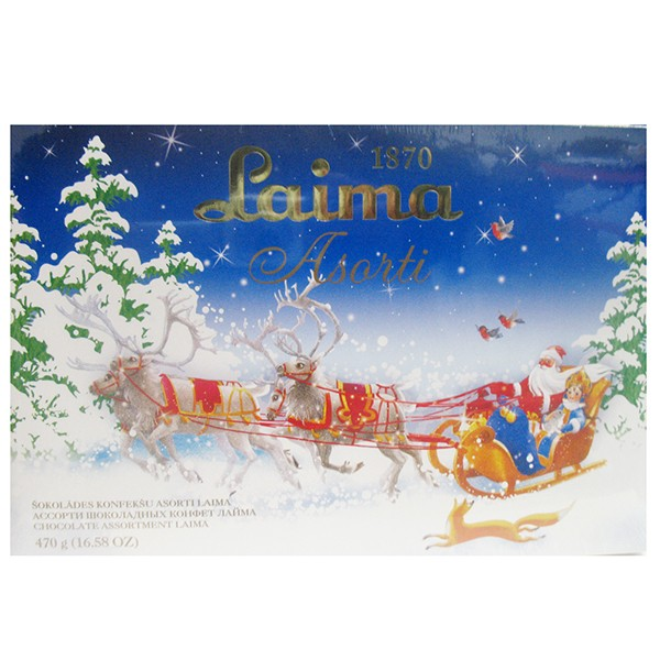 Chocolate Assortment Laima, 16.58 oz / 470 g