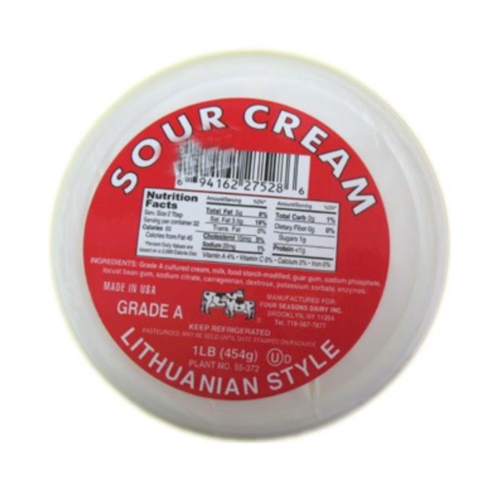 Sour Cream Lithuanian Style, 1 lb