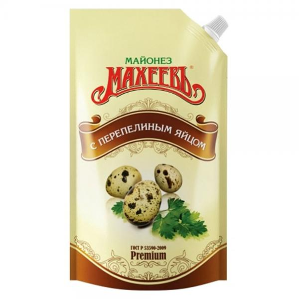 Maheev Mayonnaise with Quail Eggs, 13.52 oz / 400 ml