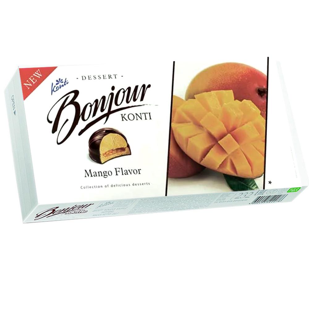 Dessert Souffle Mango, Bonjour, Konti, 232 g/ 0.51 lb