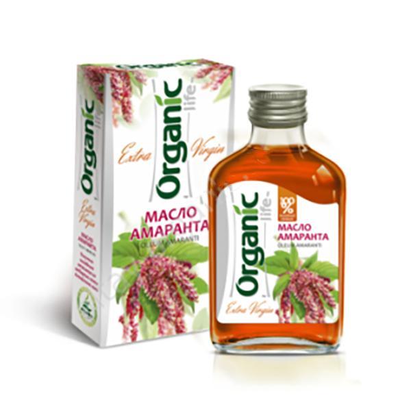 Organic Cold Pressed Unrefined Amaranth Oil, 3.5 oz / 100 ml