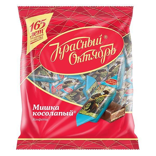 "Chocolate Wafer Candies ""Mishka Kosolapiy"", 7.05 oz / 200 g"