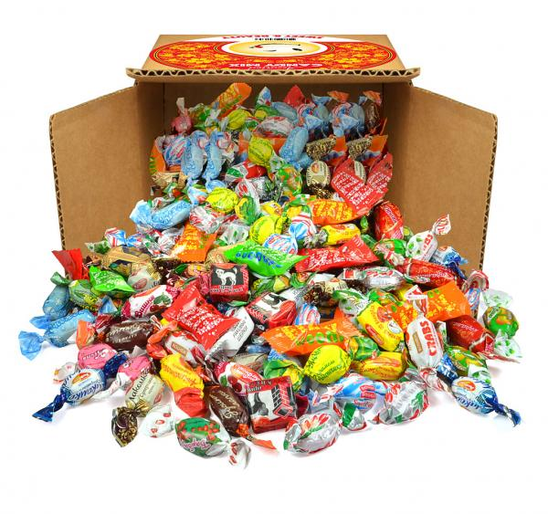 Caramel & Toffee Candy Mix for Halloween, 2 lbs / 0.9 kg