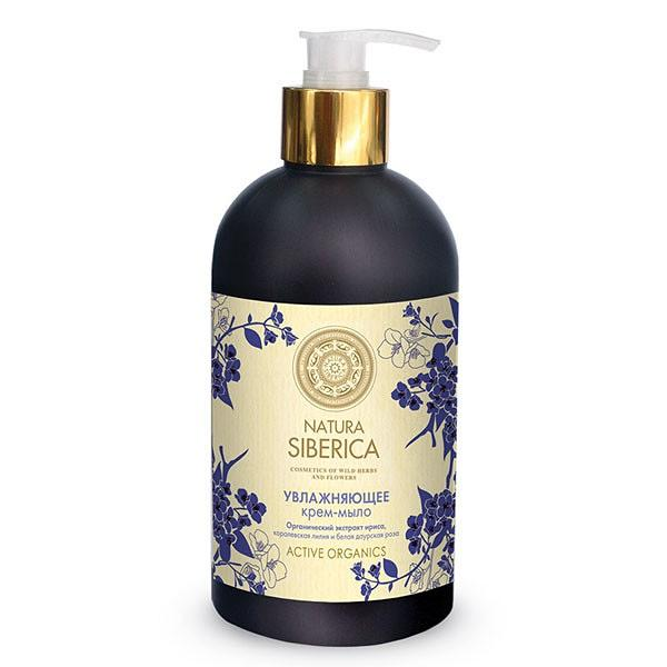 Hydrating Cream Soap with extracts of iris, royal lilies and roses dahurica by Natura Siberica 500 ml