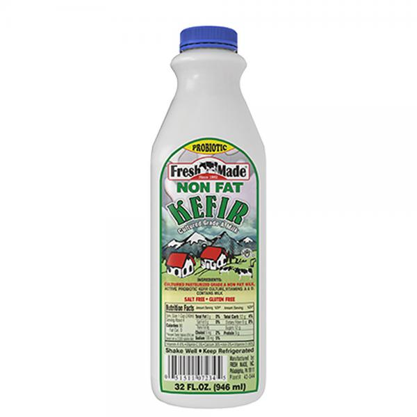 Non Fat Kefir Fresh Made, 32 oz / 0.94 L