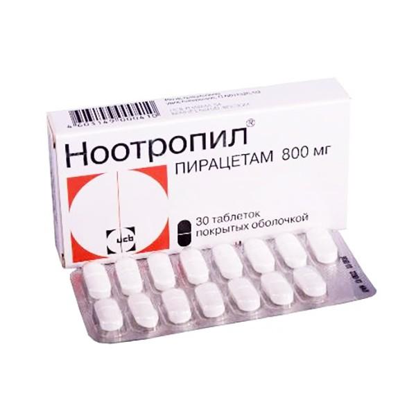 Nootropil Piracetam, 30 tabs (800 mg)