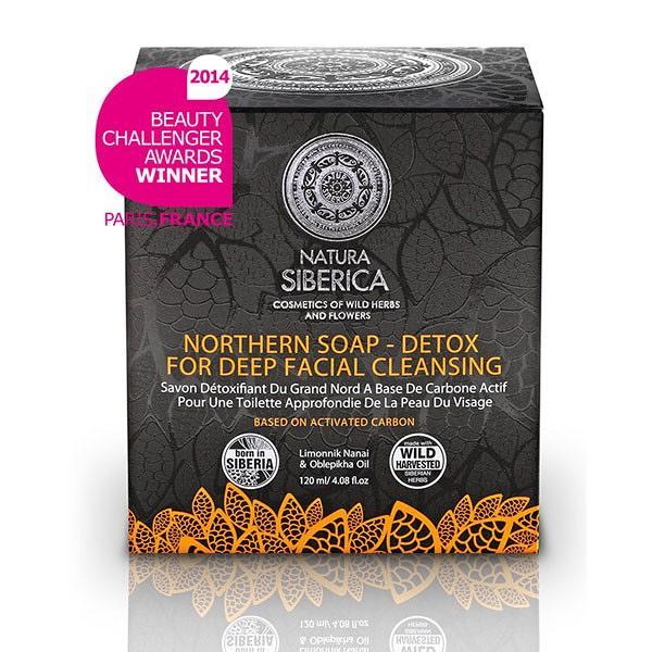 Northern Detox Soap for Deep Skin Cleansing, 4.23 oz/ 120 g
