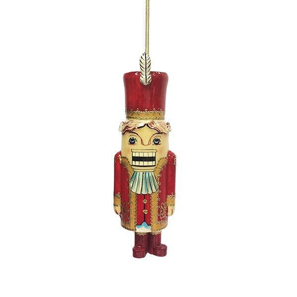 "The Nutcracker Wooden Handmade Christmas Tree Toy, 4.5"""
