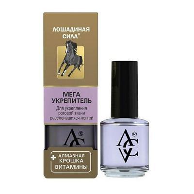 Mega Strengthener for Damaged & Peeling Nails, 0.57 oz/ 17 ml (Horse Force)