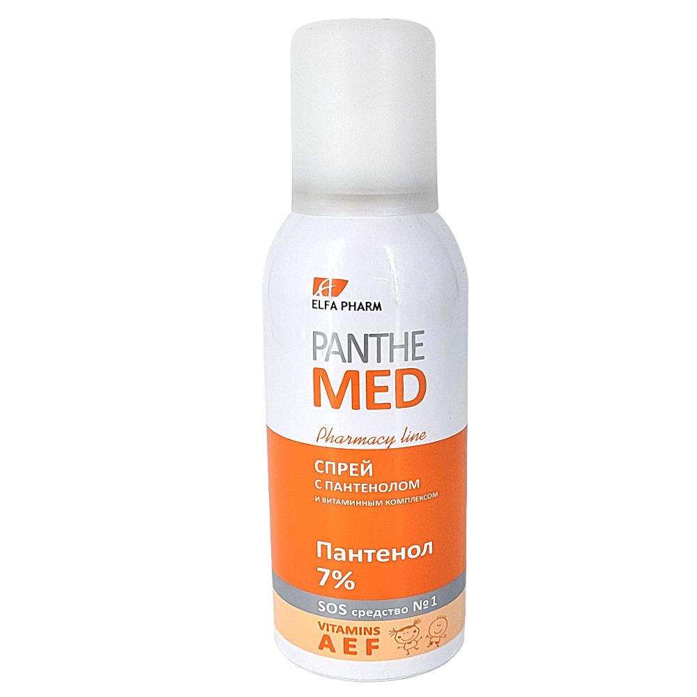 Panthenol 7% with Vitamin Complex, Elfa Pharm, 150 ml/ 5.07 oz