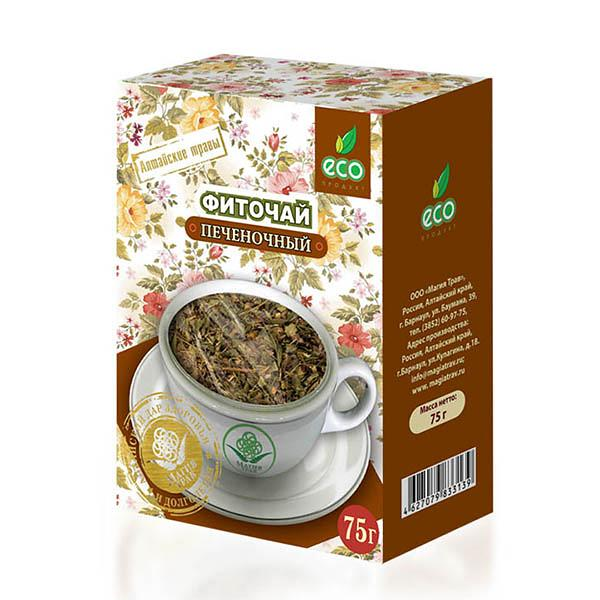 Liver Cleansing Herbal Phyto Tea, 2.64 oz / 75 g
