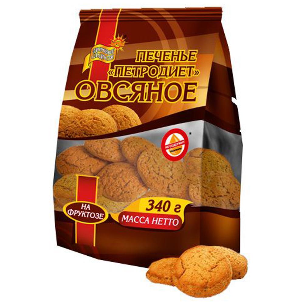 Oatmeal Cookies Sugar Free, 11.99 oz / 340 g