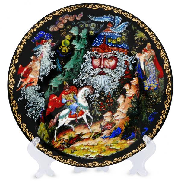 Plate collection Russian fairy tales Chernomor 20 cm