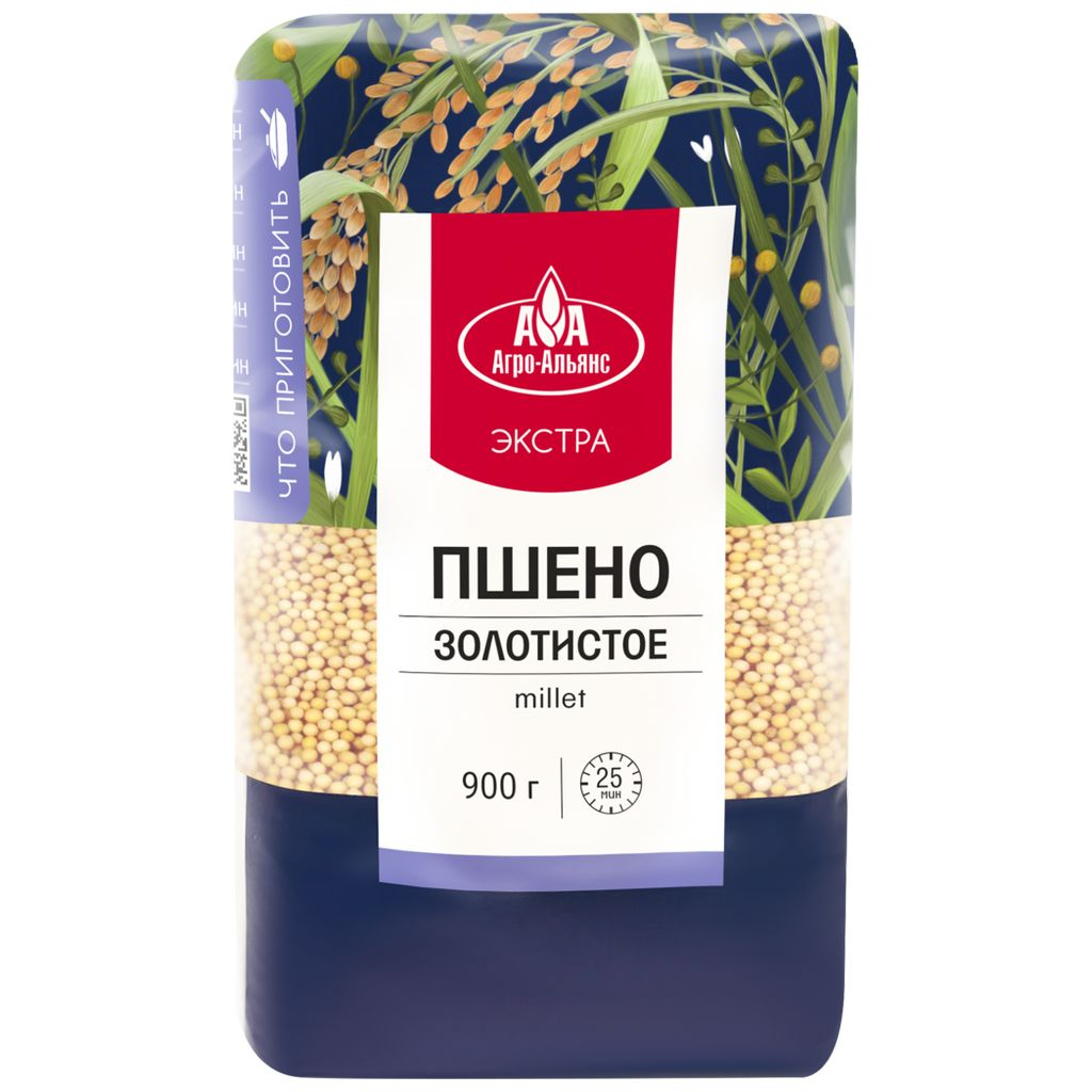 Golden Millet Extra, Agro-Alliance, 900g/ 1.98 lb