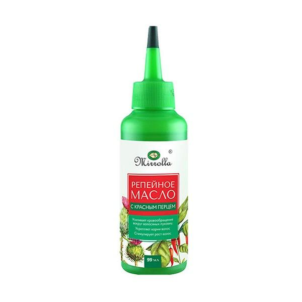 Burdock Oil with Red Pepper Extract (Oil Dispensing Bottle), 3.35 oz / 99 ml