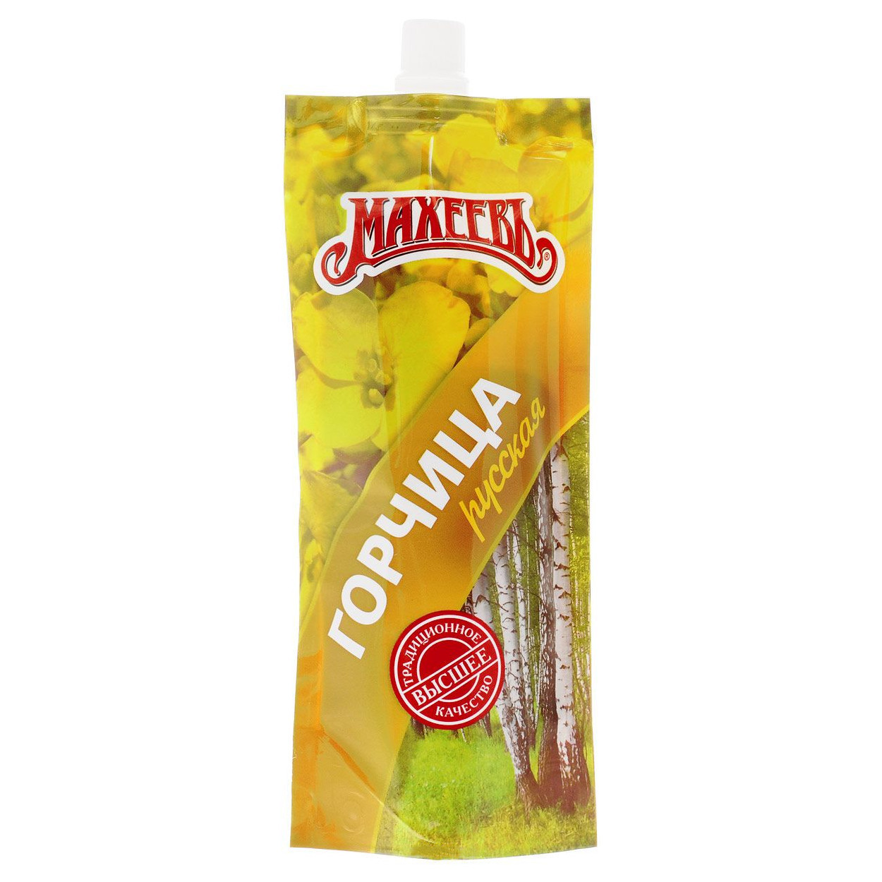 Maheev Russian Mustard (Soft Pack), 4.93 oz / 140 g