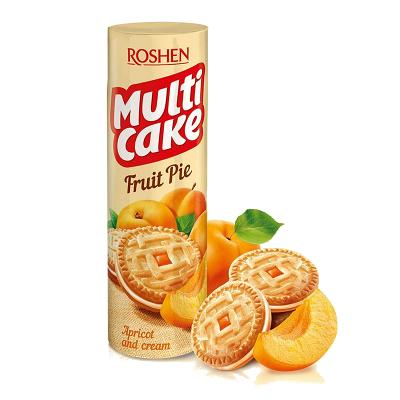 Cookies Sandwich Multi Cake Fruit Pie Apricot and Cream 6.87/oz 195g