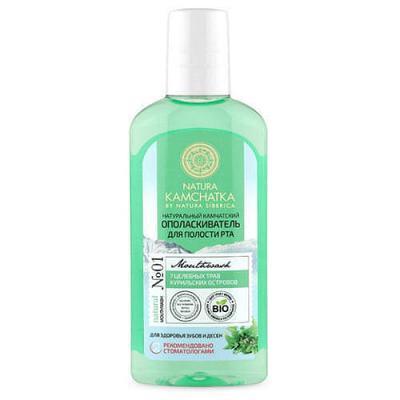 Natural Mouthwash 7 Healing Herbs 250ml Natura Kamchatka
