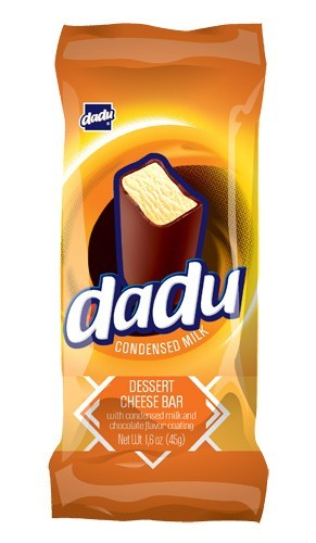 Dadu Condensed milk Cheesecake  Bar, 1.58 oz / 45 g