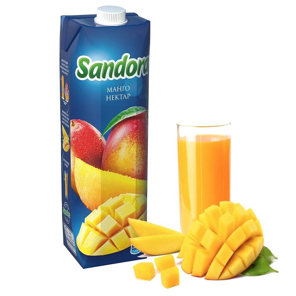 Sandora Mango Nectar, 34 oz / 1 L