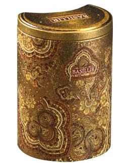 "Pure Ceylon Black Tea Pekoe  ""Golden Crescent"" from Oriental Collection in the Metal Caddy 100g"