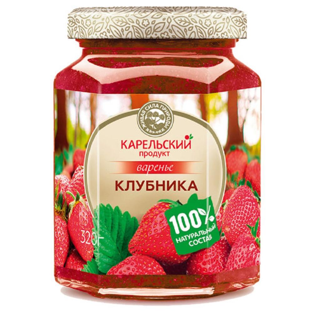 Strawberry Preserve, Karelian Product, 320 g/ 0.71 lb