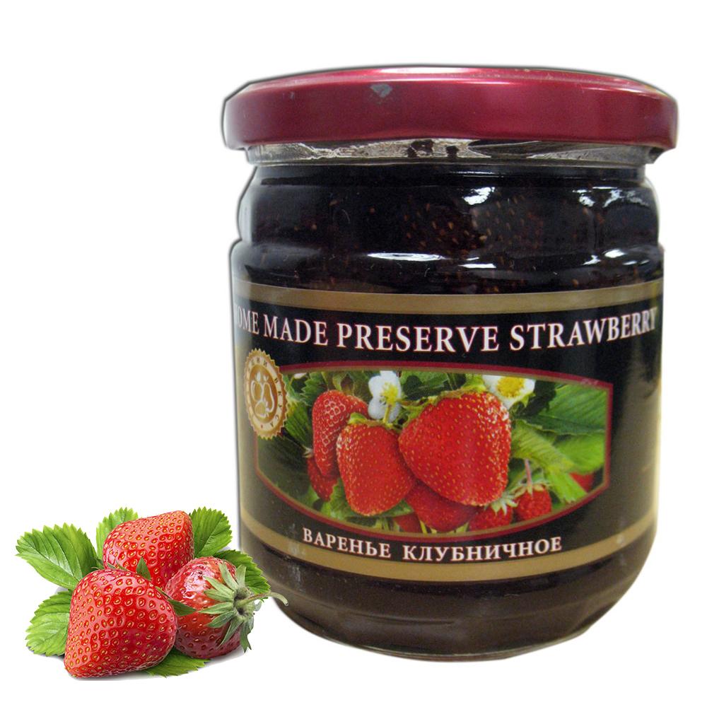 Homemade Preserve Strawberry, 17.63 oz / 500 g