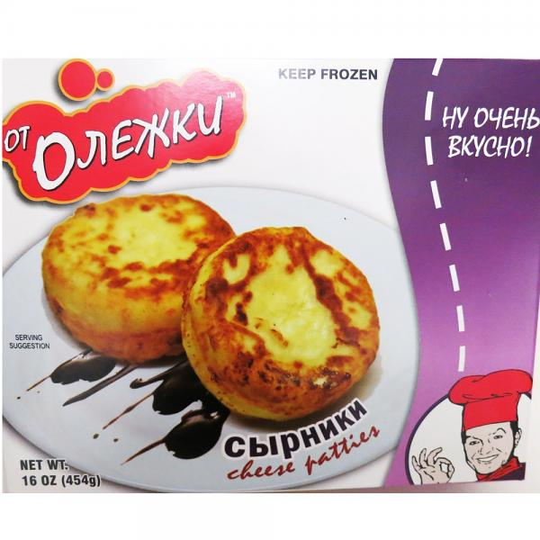 Russian Country Cheese Patties