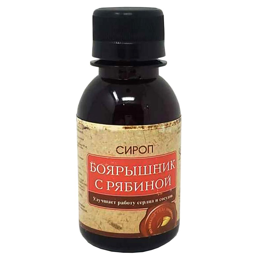 Hawthorn Syrup w/ Mountain Ash Altai, Universal-pharma, 100ml/ 3.38 oz