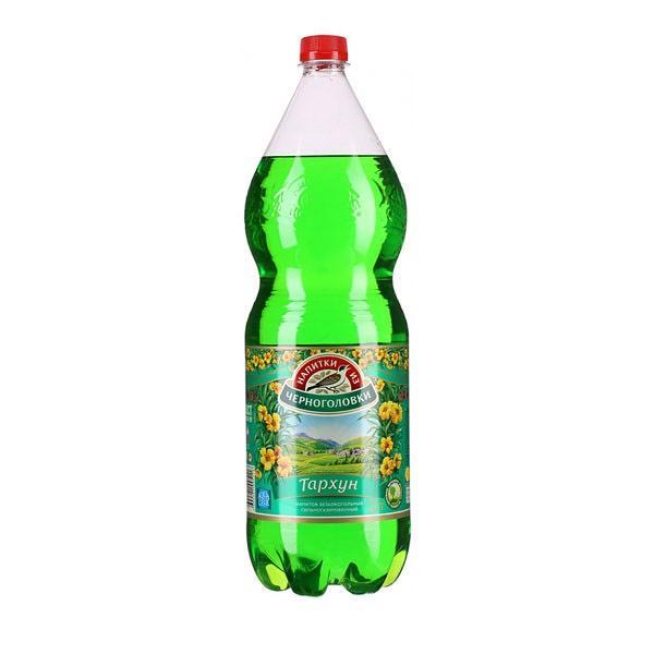 "Soda Chernogolovka ""Tarragon"", 67.6 oz / 2 L"