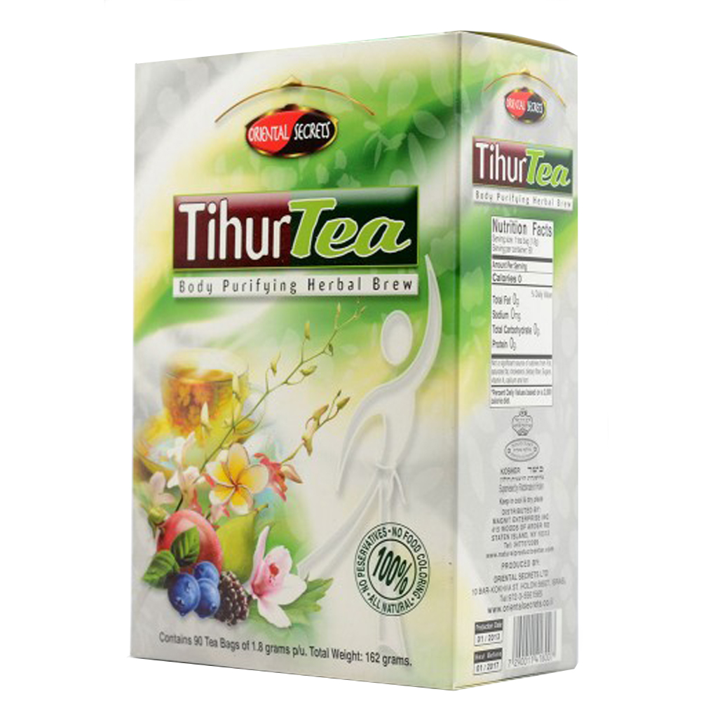 Tihur Cleansing Tea, 90 tea bags