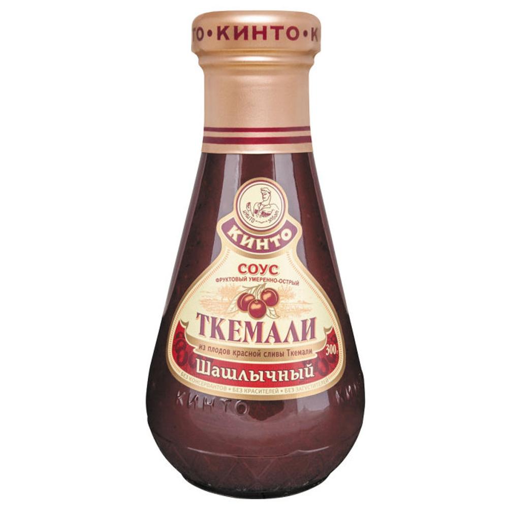 Moderately Spicy Georgian Tkemali Sauce for Shashlik (KINTO), 10.58 oz / 300 g