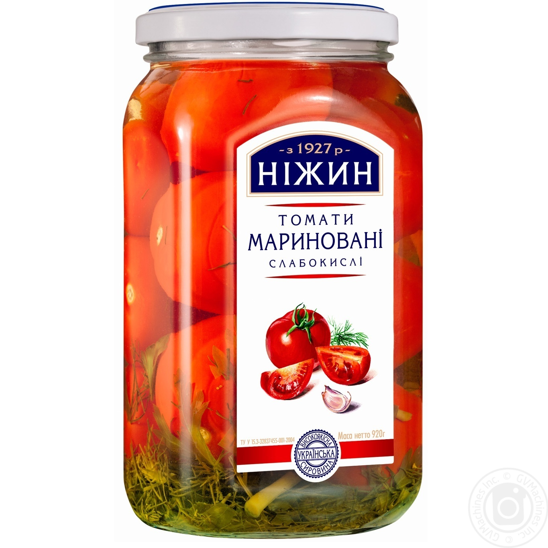Marinated Tomatoes (Nezhin), 32 oz /908 g