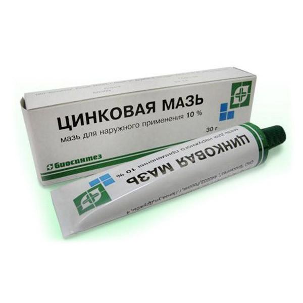 Zinc ointment 10%. 30gr