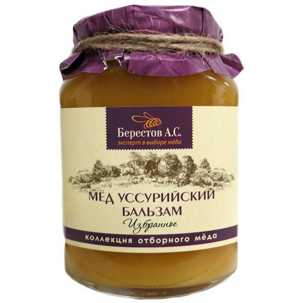 Honey Altai Natural Ussuriski Balm /1.1lb Berestov