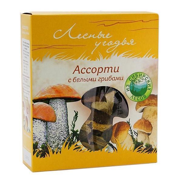 Assorted Dried Porcini Mushrooms, 1.59 oz / 45 g