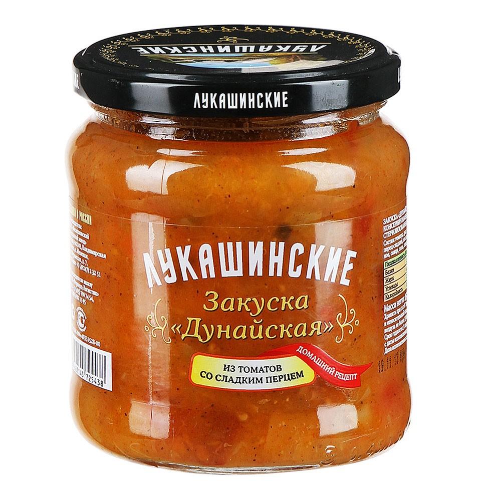 """Snack """"Dunaiskaya"""" tomato and sweet pepper.450gr/15.9oz"""