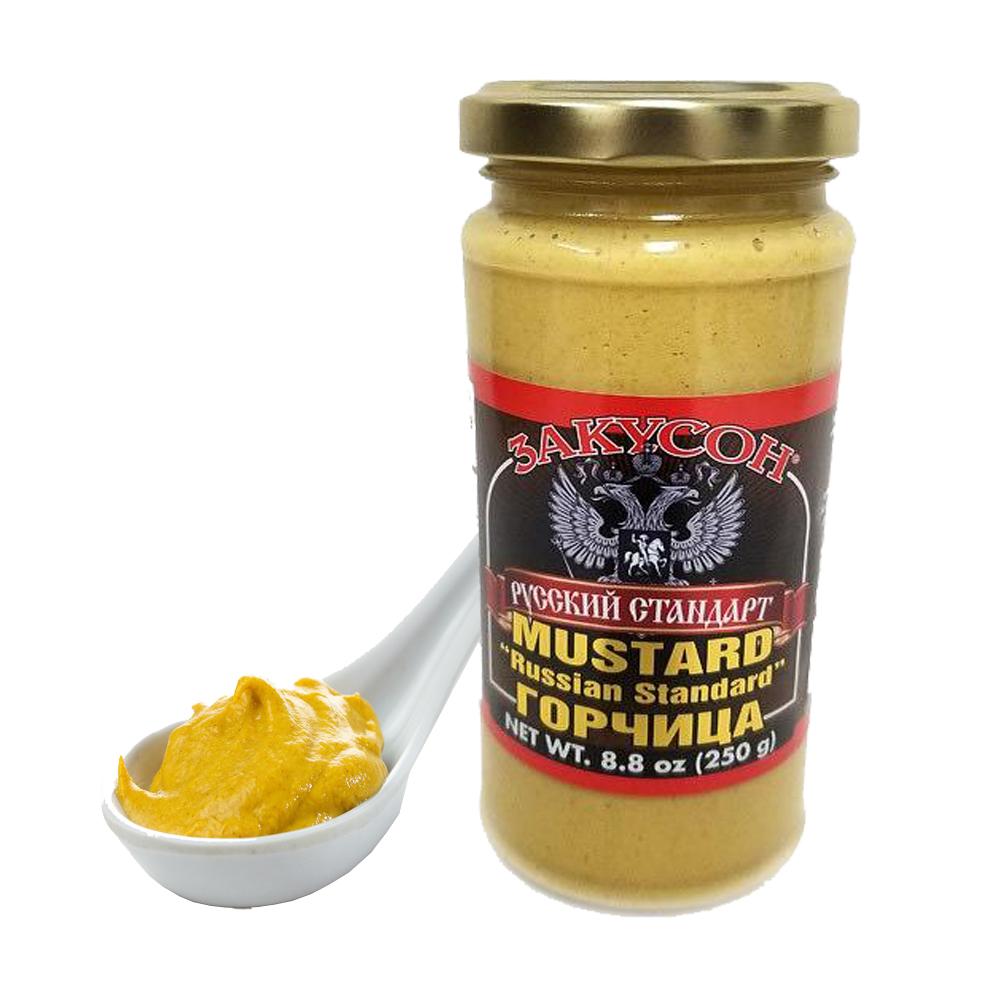 Russian Standart Mustard (Zakuson), 8.8 oz / 250 g