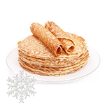 "All Natural Russian Crepes 10"" 10 Pcs, 16 oz/ 454 g"
