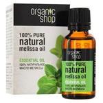 100% Natural Melissa Oil, 1 oz/ 30 Ml
