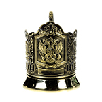 Tea Glass Holder Coat of Arms of Russia