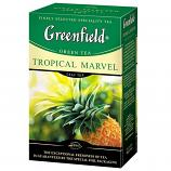 Greenfield Green Leaf Tea Tropical Marvel, 3.53 oz/ 100 g