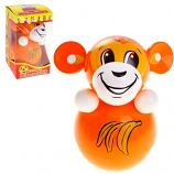 "Roly-Poly Toy, Monkey 3.5""x3.5""x6.3"""