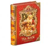 "Basilur Pure Ceylon Black Leaf Tea ""Tea Book #5"" in Metal Christmas New Year Caddy, 3.52 oz/ 100 g"