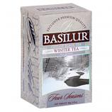 "Basilur Pure Ceylon Black Tea Four Seasons ""Winter"" 20-Count Tea Bags  40g /1.41oz"