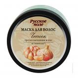 "Mask against hair loss ""Garlic"" in the ""living water"" series ""Russian Field Premium"" 250 ml"
