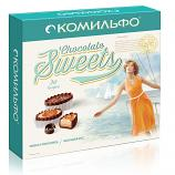 Chocolate Candies KOMILFO® with Chocolate Mousse Filling, 8.18 oz / 232 g