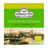 Exclusive China Green Tea Gunpowder Supreme (Ahmad Tea), 17.06 oz / 500 g